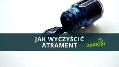 Photo of Jak wyczyścić atrament?