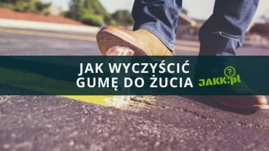 Photo of Jak wyczyścić gumę do żucia?